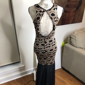 a'gaci Dresses - Agaci backless Vintage inspired Gown